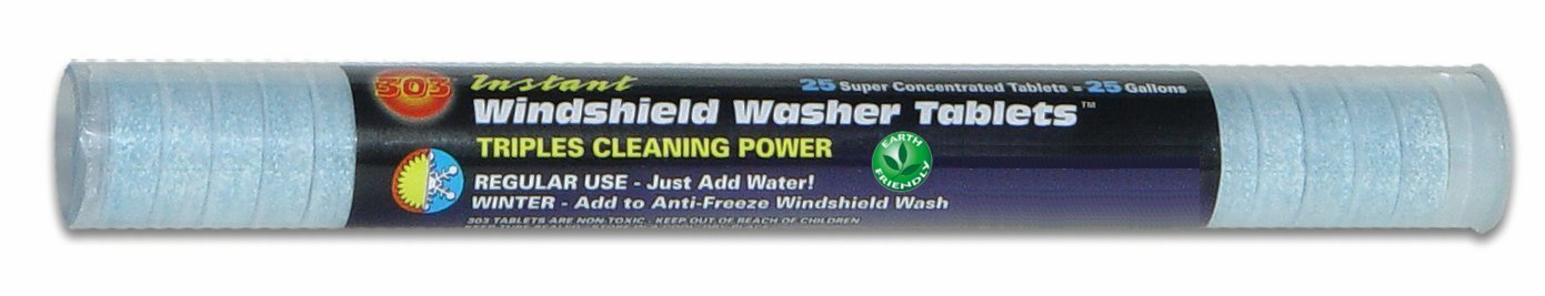 303(230371) instant windshield washer is our top windshield washer fluid. It comes in tablet form and the best buy option for you