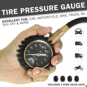 Motor Luxe is a low pressure gauge for the money