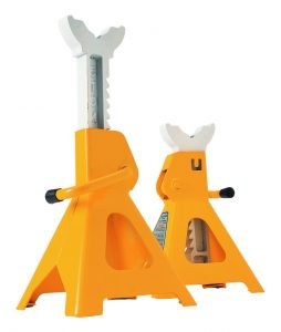 This is the best heavy duty jack stand and it comes from Performance Tool