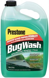 Prestone AS257 is the best windshield washer you can use for bugs