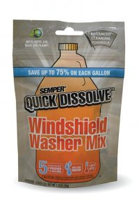 SAMPER Quick is the top one among cheap windshield washer mix available in the market. Undoubtedly it the best windshield cleaner mix